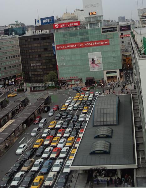 ジョイナスの屋上から見た風景