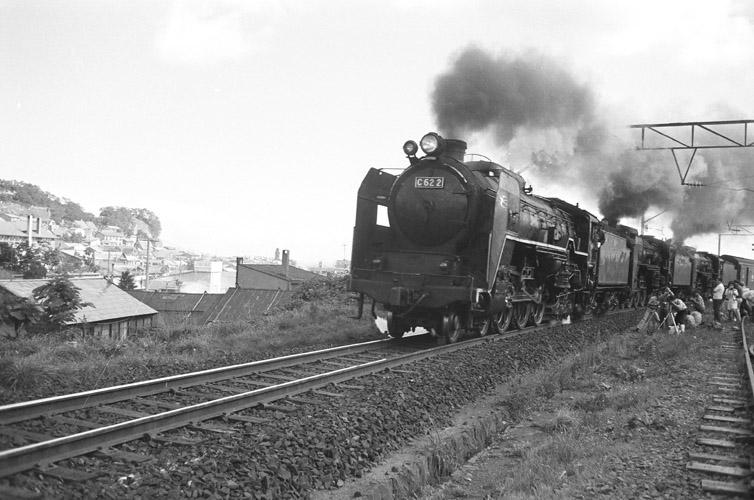 北海道で最後まで活躍した、C62蒸気機関車